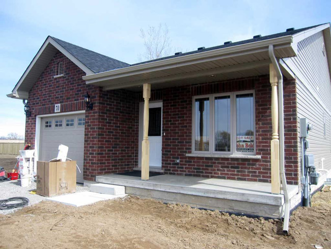 new home built and designed by john boldt builders located in st catharines ontario